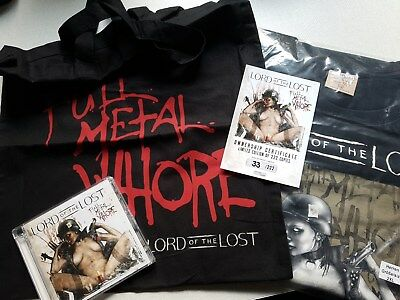 Lord of the Lost - Full Metal Whore ltd. Bundle ** 4tlg** - sold out