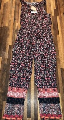 NEXT Beautiful Printed Jumpsuit Playsuit Age 5 BNWT