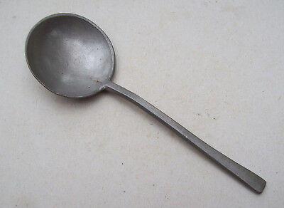 Excellent Pewter Spoon marked 1600's Metal Detecting Find