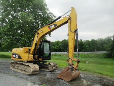 "2011 Caterpillar 312DL Hydraulic Excavator, Full Cab, AC, 40"" Bucket, 2692 Hours"