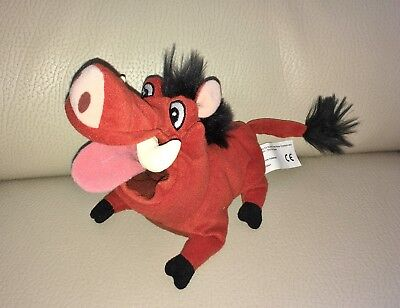 Official Walt Disney The Lion King Pumbaa the Warthog Beanie Soft Toy