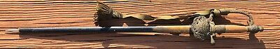 VERY RARE JAPANESE MEIJI DIPLOMATIC COURT DRESS SWORD W/ KNOT Samurai Pre- WW2