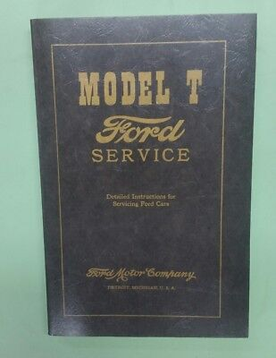 Model T Ford service manual Polyprints reprint