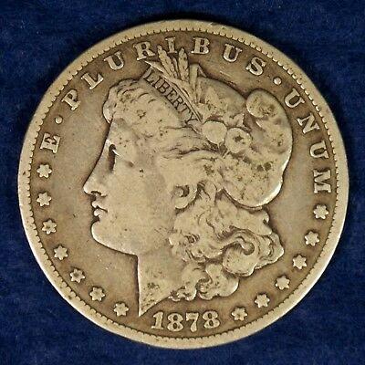 1878-CC $1 Morgan Silver Dollar Coin **Carson City**