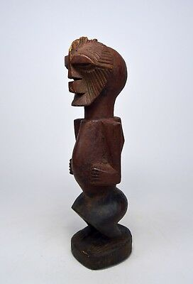 A Very Rare Songye Male sculpture with Kifwebe mask, African Art