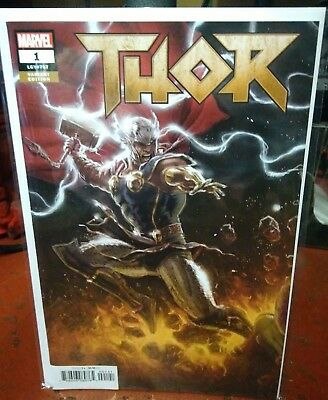Thor #1 Andrews Connecting Party Variant Marvel Comics Vf Nm