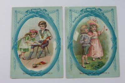 Victorian Trade Cards Seek ye the Lord- Isaiah 55:6