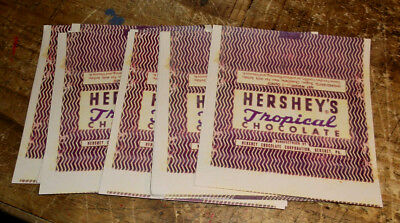 20 Replica WWII Hershey's Tropical Chocolate Bar Wrappers