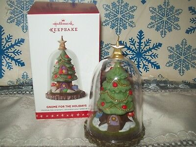 Hallmark Gnome For The Holidays 2016 Christmas Keepsake Ornaments Gnome Home