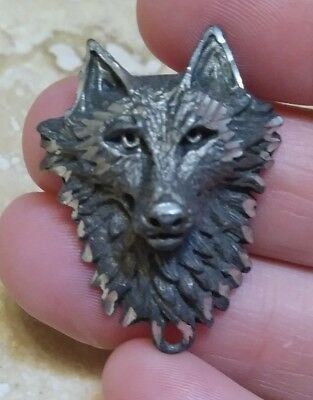 Wolf Pendant Pewter