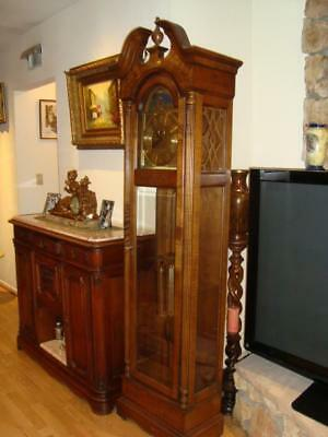 Howard Miller 610-463 Cable driven Grandfather Clock -GREAT Condition. USA Made.