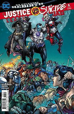 JUSTICE LEAGUE SUICIDE SQUAD #6, MAIN COVER, New, First print, DC (2017)