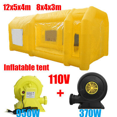 Portable Mobile Inflatable Car Paint Spray Booth Tent Cabin Direct Manufacturer