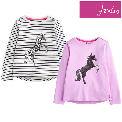 Joules Older Girls Ava Jersey Top (Z) **FREE UK Shipping**