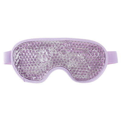 Aroma Home Therapeutic Hot Or Cold Flexible Gel Beads Lilac Soothing Eye Mask
