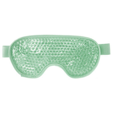 Aroma Home Therapeutic Hot Or Cold Flexible Gel Beads Green Soothing Eye Mask