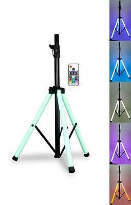 "American DJ Color LED Tripod Stand+Remote For 8""/10""/12""/15"" Karaoke Speakers"