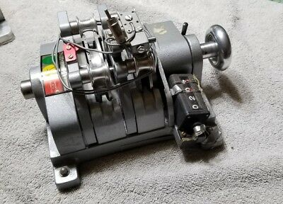 VTG Hollywood Film Company HFC 2 Gang Film Synchronizer and Counter 2.16 16MM