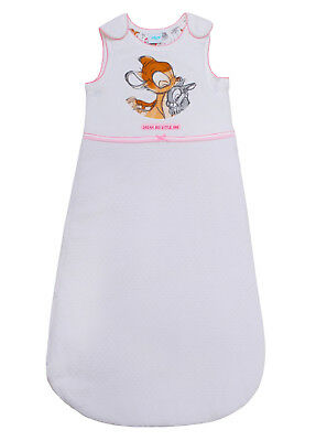 BABY GIRLS SLEEPING BAG DISNEY BAMBI Tog 2.5 EX UK STORE 0-18M BRAND NEW
