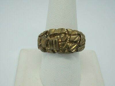 Heavy Solid 14K Yellow Gold (15.5g) Men's Ring, Size 10, Not Scrap, No Reserve!