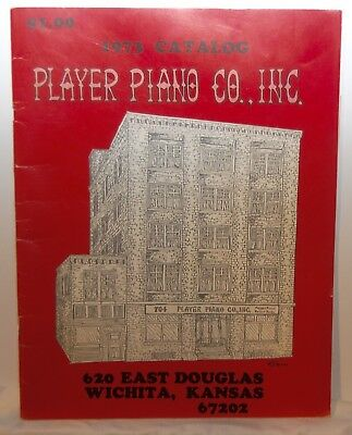 Player Piano Co., Inc 1973 Catalog Wichita, Kansas