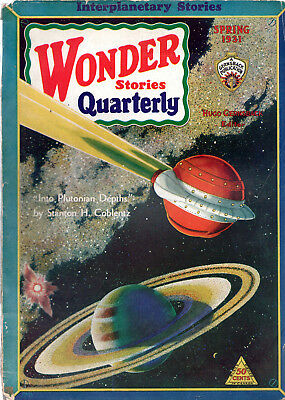WONDER STORIES QUARTERLY:Spring 1931-Stanton A.Coblentz,Manley Wade Wellman