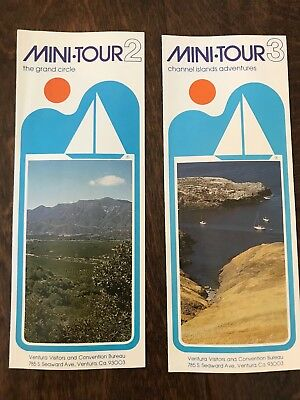 Mini Tour 2 & 3 California The Grand Circle Channel Islands Adventures Brochures