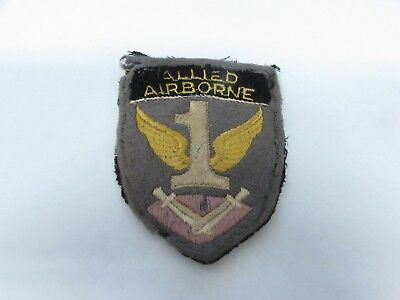 WWII Allied Airborne Army British made patch felt patch