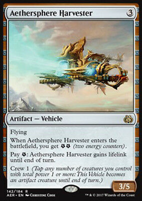 Mtg Aethersphere Harvester Exc - Mietitore Dell'etersfera - Aer - Magic
