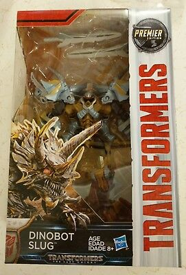 Transformers: The Last Knight Premier Edition Dinobot Slug 18 Steps