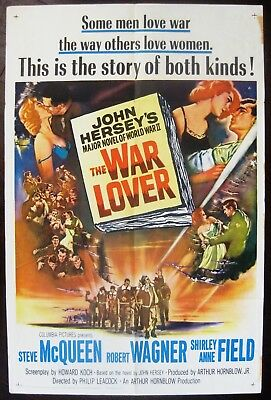 The War Lover 1962 Steve McQueen Robert Wagner Shirley Anne Field US Poster