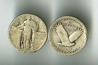 40 Standing Liberty Silver Quarters