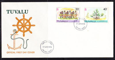 Tuvalu 1978 Definitives  First Day Cover - Unaddressed