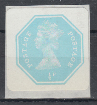 1/2d turquoise early Self Adhesive; Mint; B