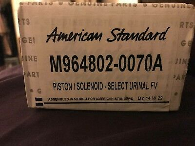 New American Standard M964802-0070A PISTON/SOLENOID SELECT URINAL  free shipping