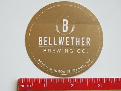 BEER Decal STICKER ~ SKOOKUM Brewing Company ~ Arlington WASHINGTON Breweriana
