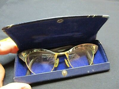 Vintage A/o Eyeglasses/1/10 12K G.f./lots Of Gold In These Glasses/neat Frame