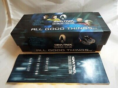 Star Trek Ccg Dominion, Sealed Box Of 30 Boosters
