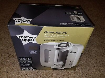 Tommee Tippee Closer To Nature Perfect Prep Machine Bottle Feeding Nursery