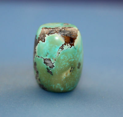 21*16 mm Antique Undressed Dzi turquoise old Bead from Tibet **Free shipping**