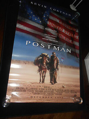 The Postman  Kevin Costner Sci Fi Original Rolled One Sheet Poster DS