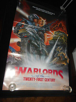 Warlords Of The 21st Century Sci Fi   Original Folded One Sheet Poster