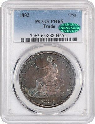 1883 Trade$ PCGS PR 65 - Scarce Proof-Only Trade Dollar - US Trade Dollar