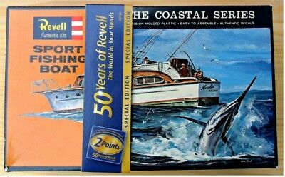 Revell 50 Years of Revell Sport Fishing Boat The Coastal Series H-387:100