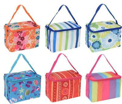 Insulated 4Lt Cool Box Lunch Bag Cooler with Shoulder Strap
