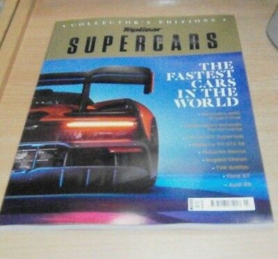 BBC Top Gear magazine Collector's Editions 2018: Supercars Fastest Cars in the W