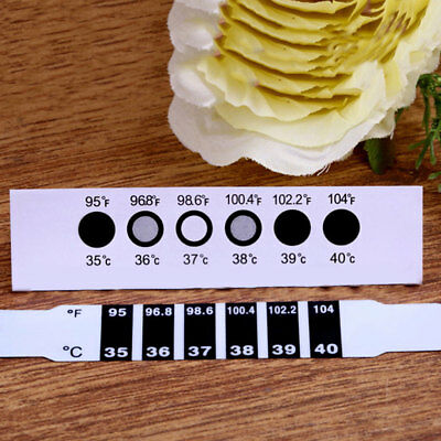 Baby Kids Forehead Strip Head Thermometer Fever Body Temperature Test Hot