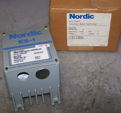 New Nordic 1-1/2 Hp Soft Start Induction Motor Controller 115 Vac 1311300