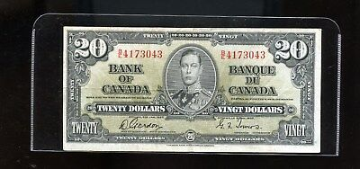 1937 Bank of Canada $20 Gordon Towers F DCW15