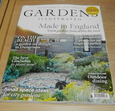 Gardens Illustrated magazine JUL 2018 Made in England, Outdoor Dining, City &